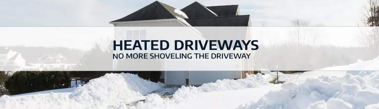 heated driveway calgary